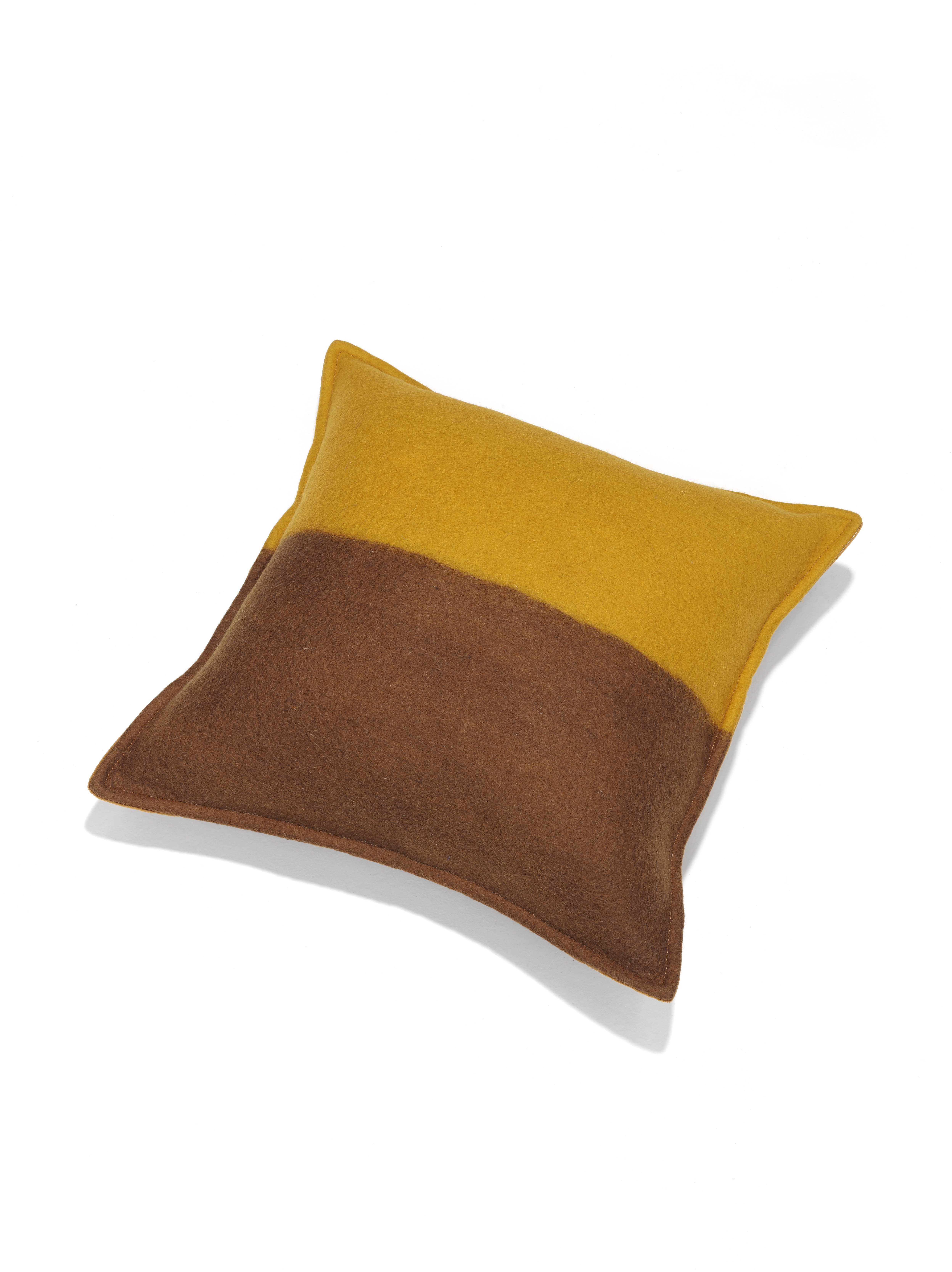 M_and_Otto for Linteloo Glow pillow brown yellow